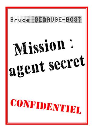 Petit livre : Agent secret
