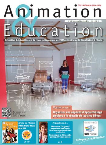 Animation & éducation n°243 couverture