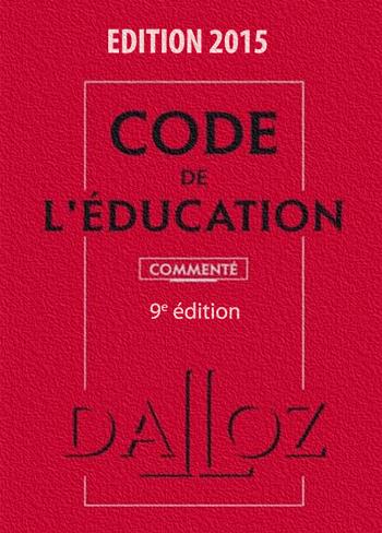 Code de l'éducation 2015