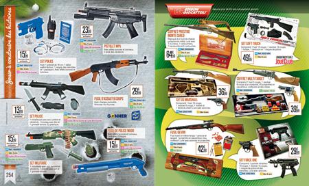 Joué Club arme les enfants pour Noël 2014