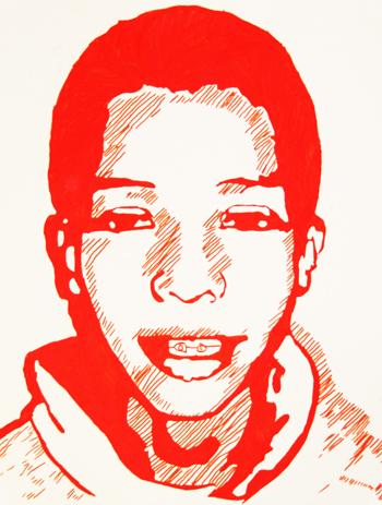 Autoportraits au vidéoprojecteur
