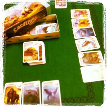 jeu Cardline animaux