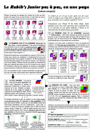 Le Cube Junior 2x2x2 Ou Encore Rubiks Revenge 4x4x4 Ainsi Que Quelques Photographies Prises A Lecole Et Articles De Presse